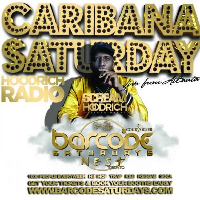 BARCODE SATURDAYS CARIBANA 2019 w/ Dj Scream & Dj Wire   ticketZone