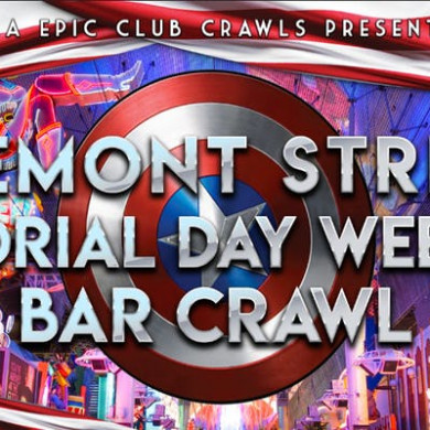 2019 Fremont Street Bar Crawl Las Vegas Memorial Day Weekend