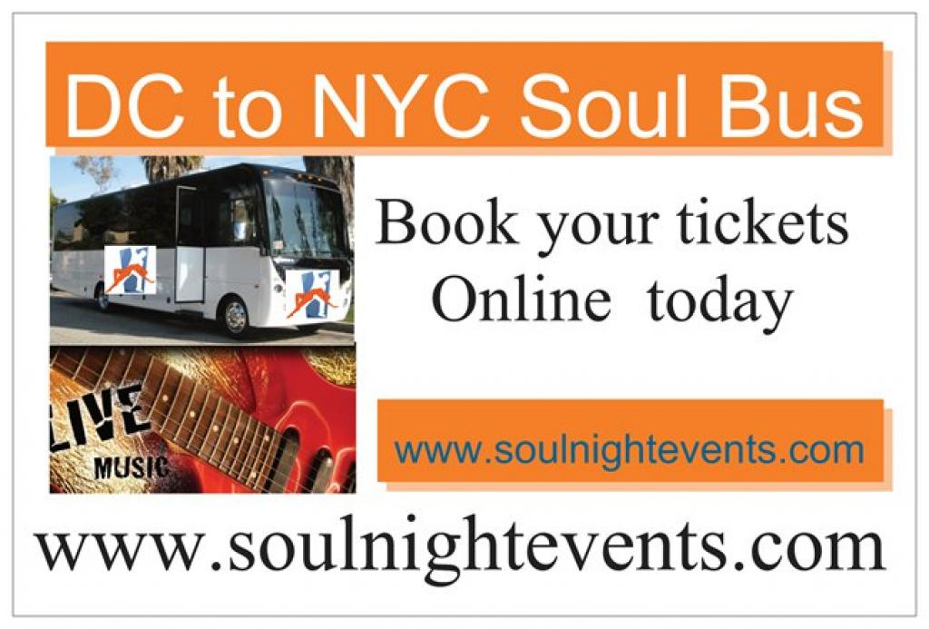 DC to NYC Soul Bus