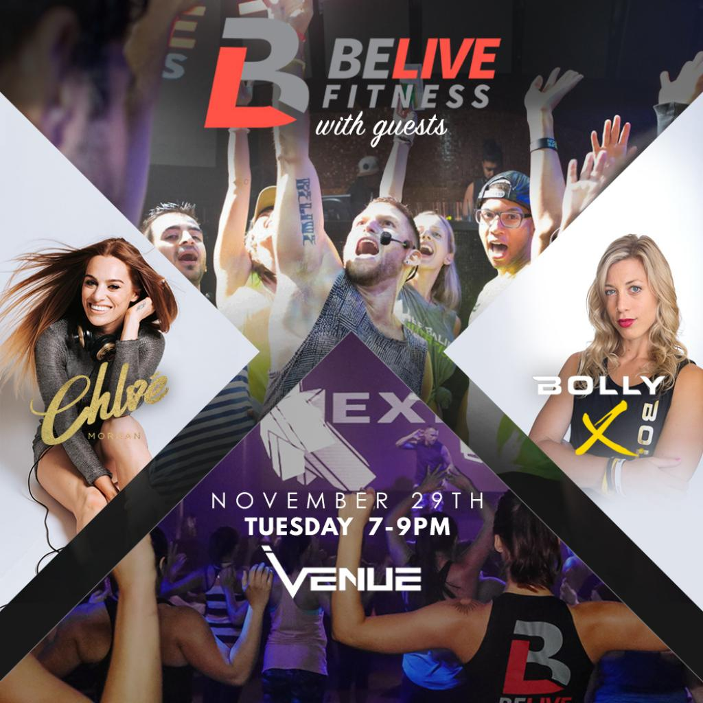 BeLive Fitness with Special Guests
