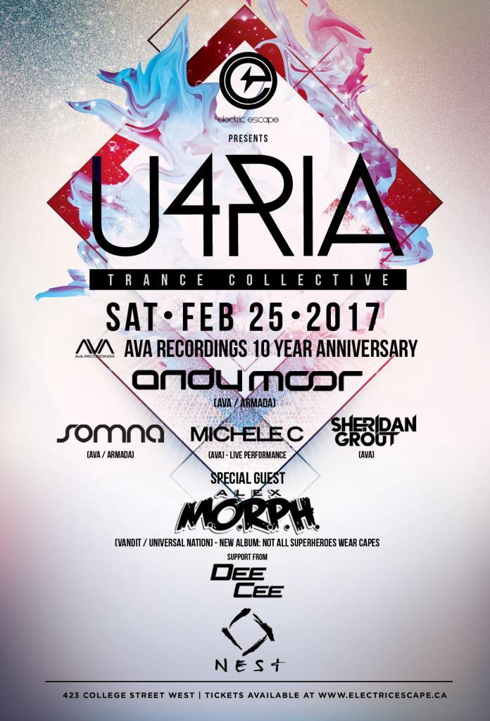 U4RIA - AVA 10 YEAR ANNIVERSARY
