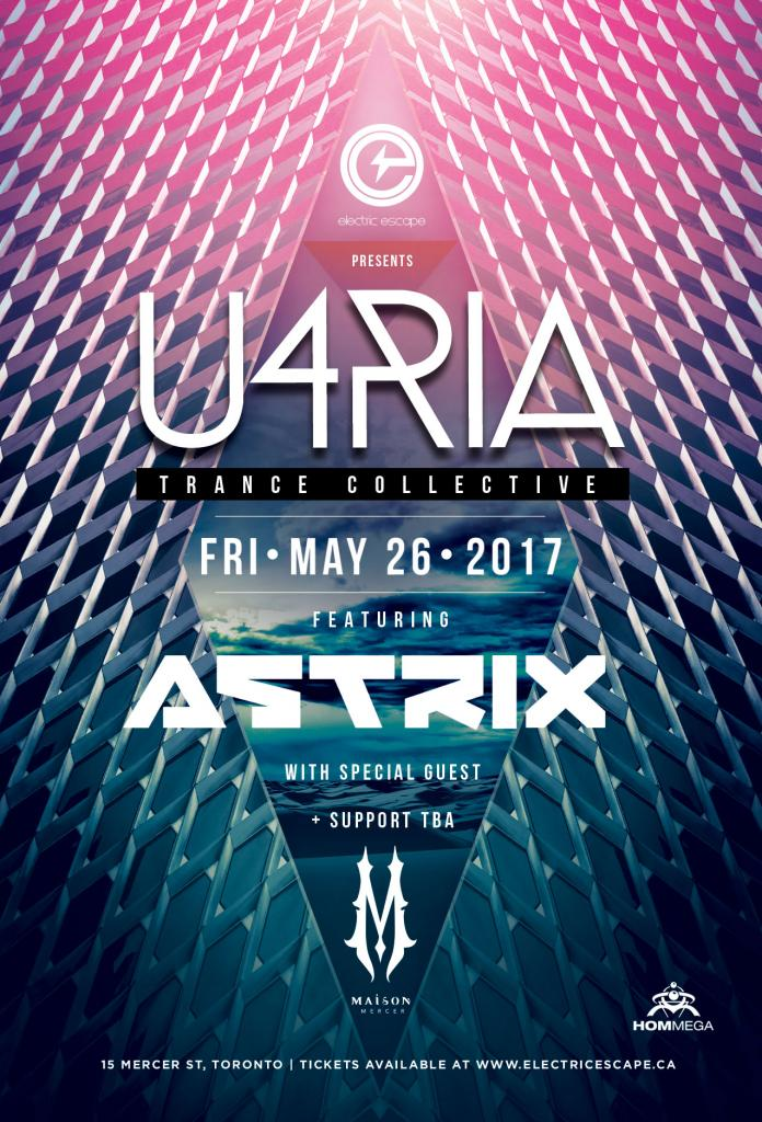 U4RIA - Trance Collective featuring Astrix and special guest