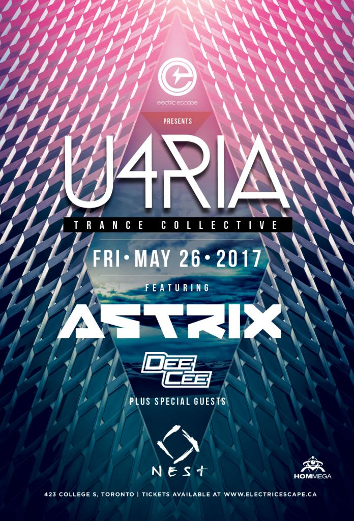 U4RIA - Trance Collective featuring Astrix with DeeCee + Friends